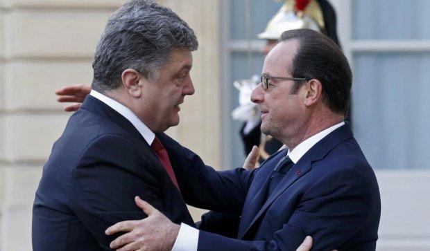 Олланд: Украина стала одним из главных актеров европейской сцены