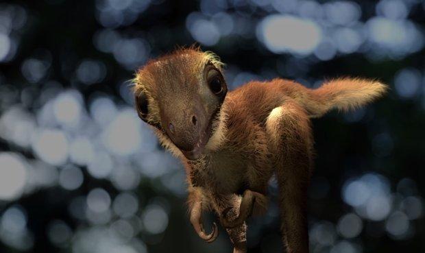 Пухнастий милаха: вчені створили маленького тиранозавра