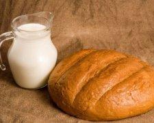 хліб і молоко