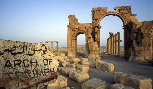 Радикальні ісламісти підірвали пальмірську Тріумфальну арку ІІ ст. н. е.