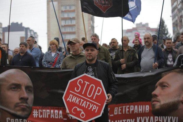 ветеранская акция в Черкассах
