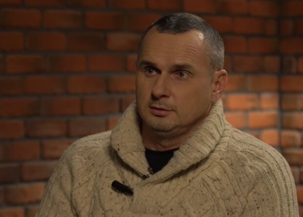 Олег Сенцов, кадр из видео