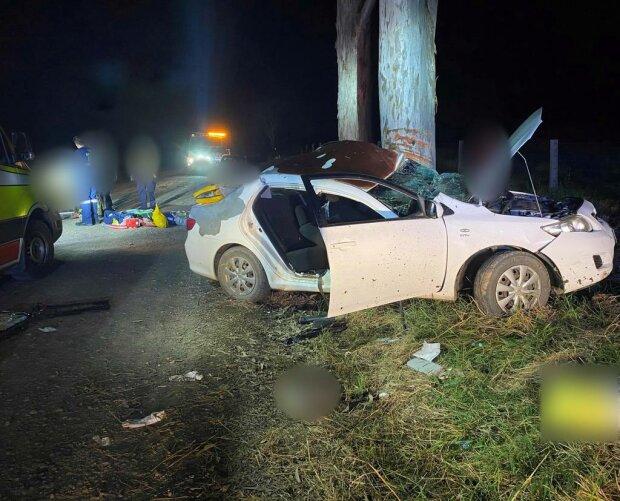 Авария, фото: RACQ Lifeflight