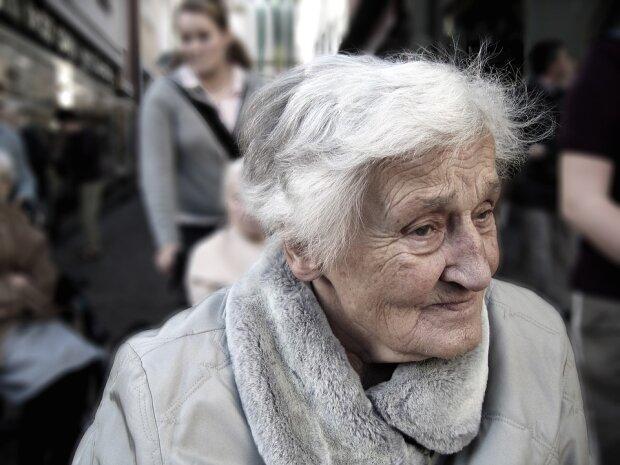 пенсіонерка, фото pixabay