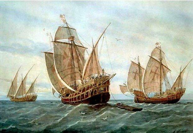 Потонулий корабель часів Колумба