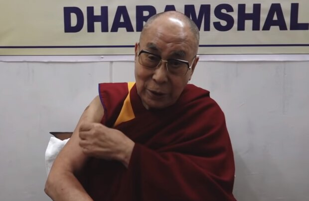 Далай-лама, кадр з відео