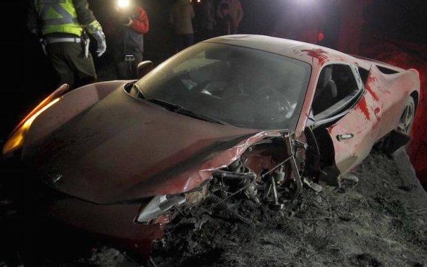 Топ-7 автомобільних аварій за участі футболістів
