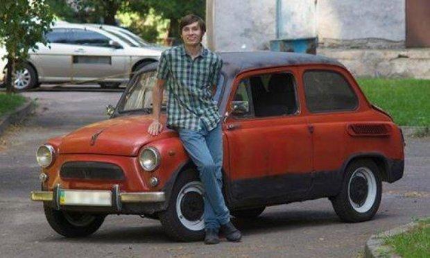 Студент київського політеху зібрав собі електромобіль