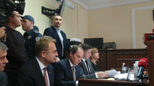 Андрей Садовый в суде, фото: Цензор. НЕТ