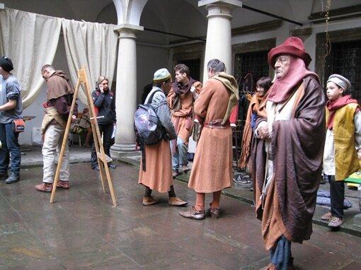 Джоконду везуть у Львів? Фільм про Леонардо да Вінчі знімають у серці Галичини