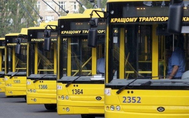 Київські тролейбуси змінять маршрути