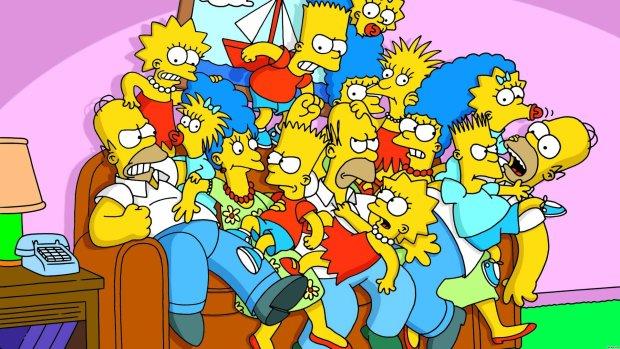 Вглобальной сети показали мрачную российскую версию «Симпсонов»