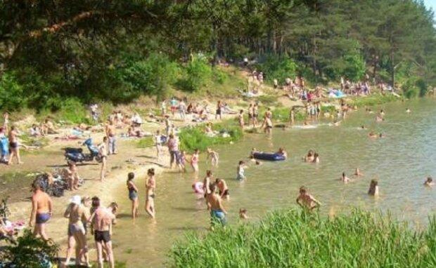 Озеро  в Суховоле, фото: zaxid.net