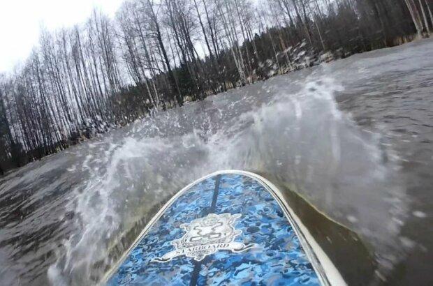 Серфінг у Фінській затоці
