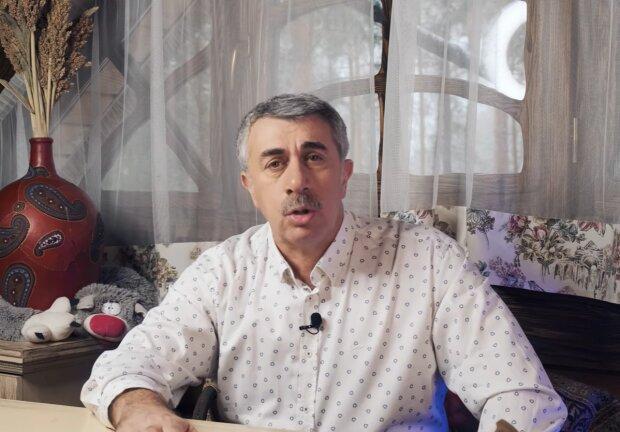 Доктор Євген Комаровський, кадр з відео