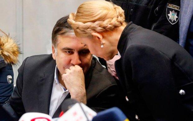 Міхеїл Саакашвілі і Юлія Тимошенко, фото: Bin.ua