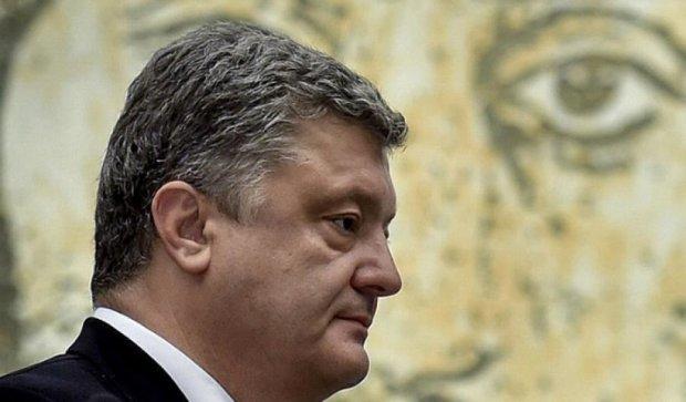 Порошенко открыл фреску Сергея Нигояна в киевском сквере (фото)