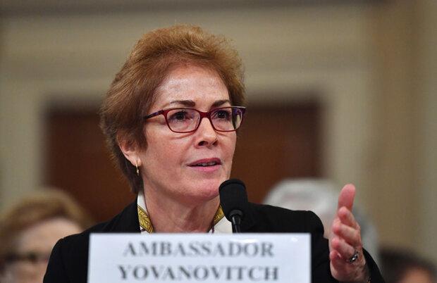 Бывший посол США в Украине Йованович покидает государственную службу из-за Трампа