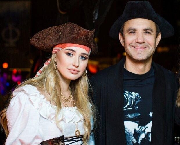 Николай Тищенко с женой Аллой Барановской