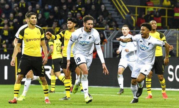 Хоффенхайм сотворил чудо в Дортмунде, проигрывая в три гола