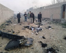 Авиакатастрофа в Иране, скриншот с видео