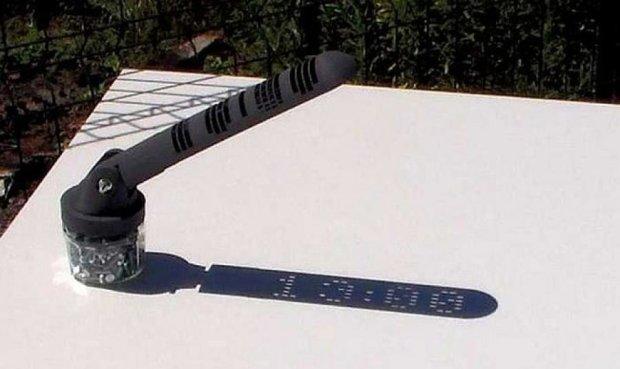 Цифровые солнечные часы на 3D-принтере (видео)