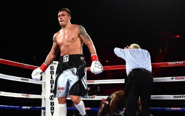 Усик готовий битися з російськими боксерами навіть в Москві