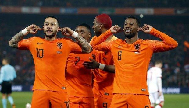 Відбір ЄВРО-2020: Нідерланди розгромили білорусів у Роттердамі