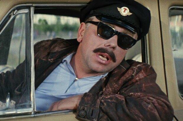 таксист, кадр з радянського фільму