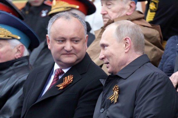 Путінський дружок Додон розмріявся про Порошенка: треба поговорити