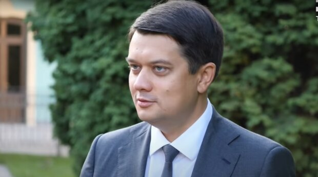 Дмитрий Разумков, скриншот из видео