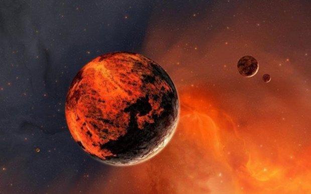 Красная планета опять удивила своими красотами
