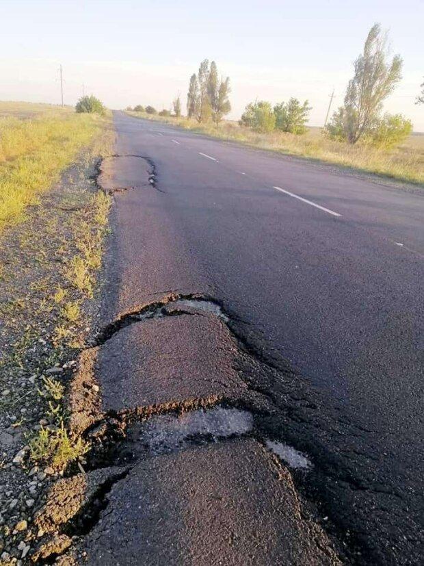 В Запорожской области снова жалуются на дороги - ЗНАЙ ЮА