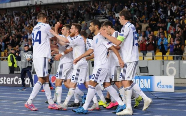 Динамо заняло высокое место среди самых успешных клубов Лиги чемпионов