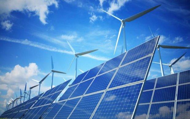 Україна почала поступово переходити на екологічну електрику