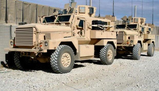 США дадут Украине бронированные автомобили и беспилотники