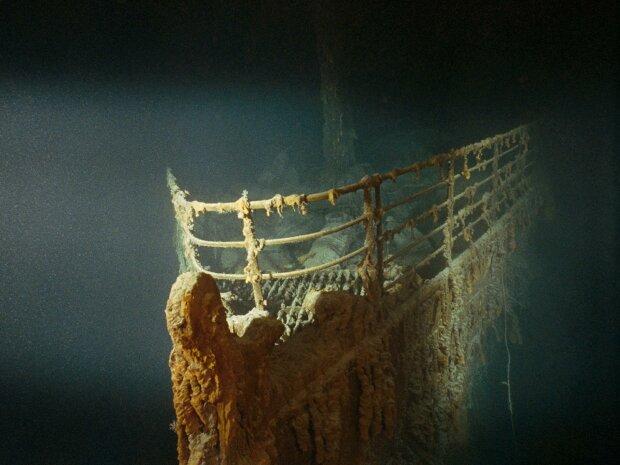 """в сети показали кадры """"Титаника"""", который разрушается на дне Атлантики"""
