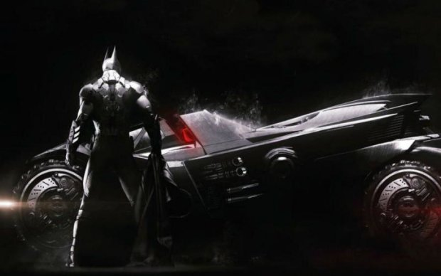 Авто сына депутата? По Киеву рассекает машина Бэтмена