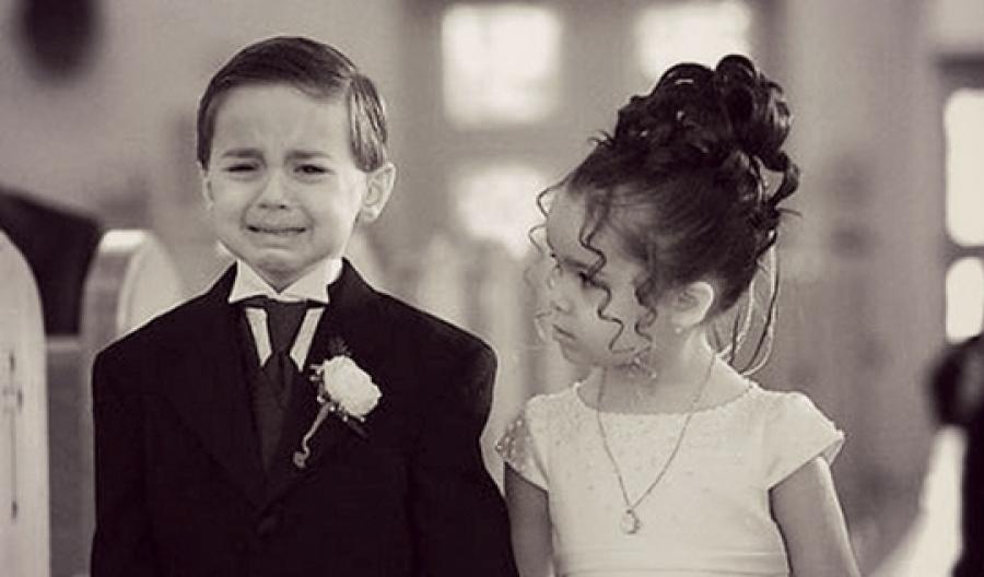 Открытки день, прикольные картинки детей свадьба