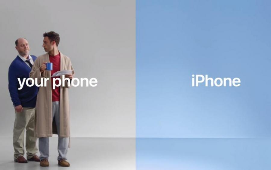 Apple тролить Android у новій рекламі iPhone  63daf774bfd6d