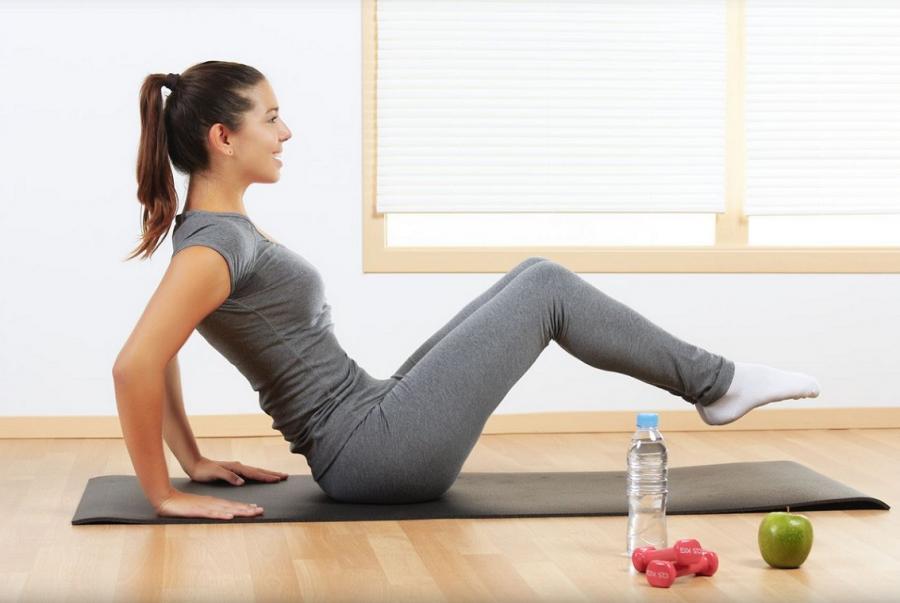 Домашний фитнес похудеть