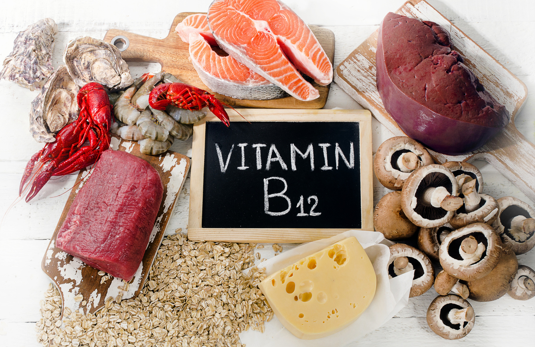 По каким скрытым признакам можно понять, что вам не хватает витамина В12