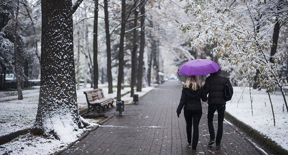 У п'ятницю на Прикарпатті можливий сніг з дощем