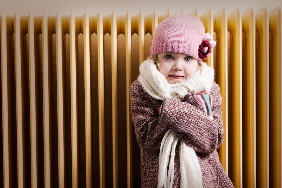 Картинка тепло одетого ребенка