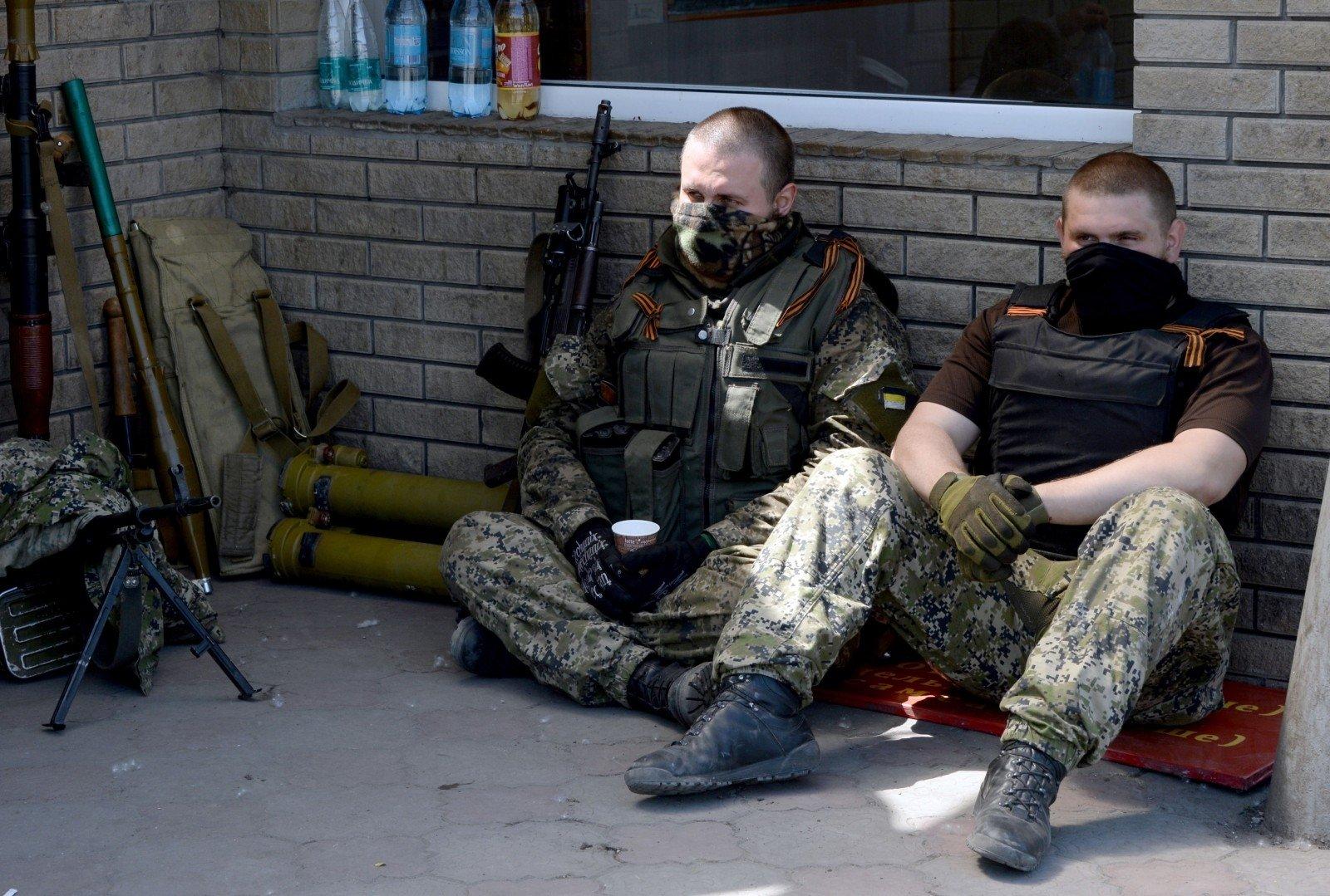 сразу спецназ россии на донбассе картинки опубликовал