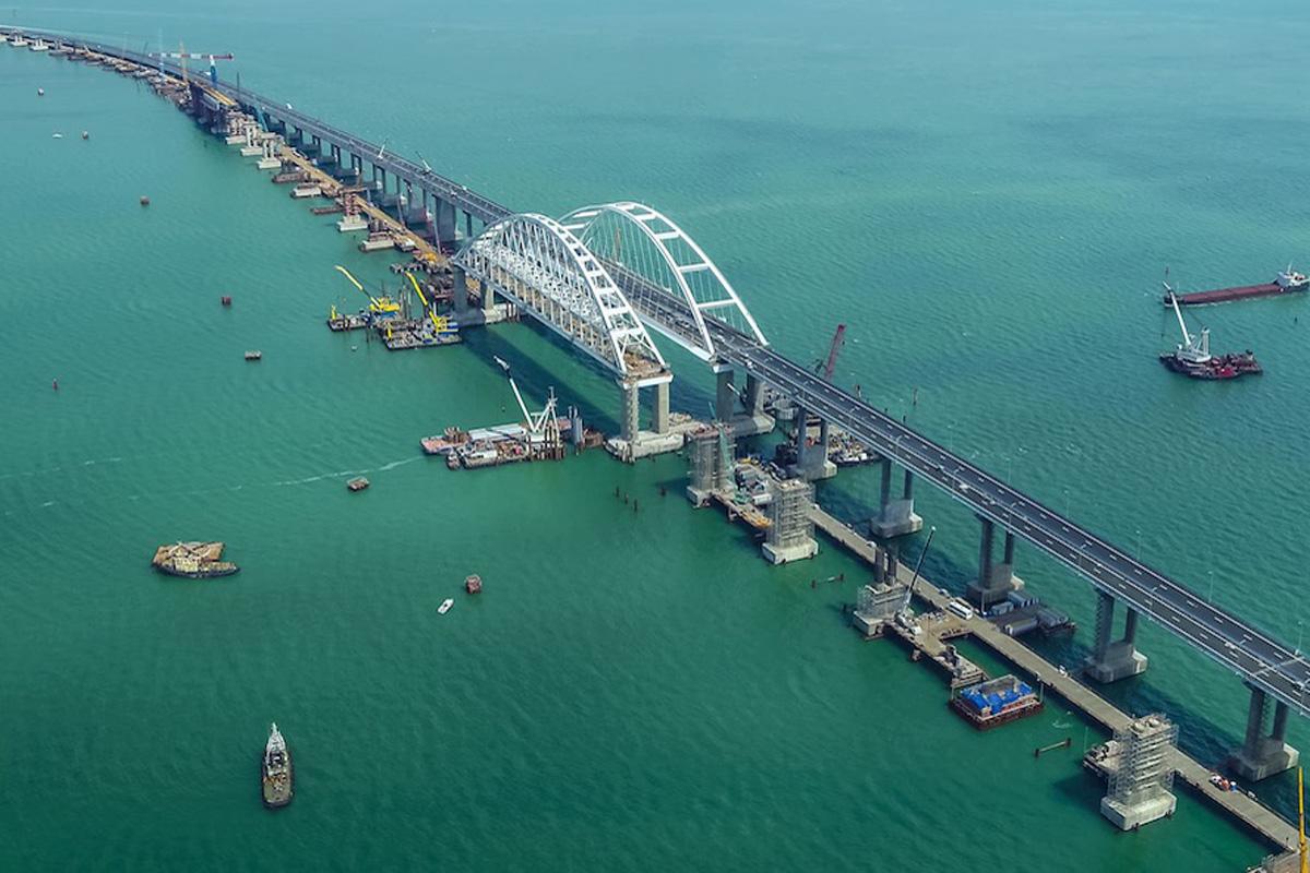 сети появилась свежие фото керченского моста должен сделать
