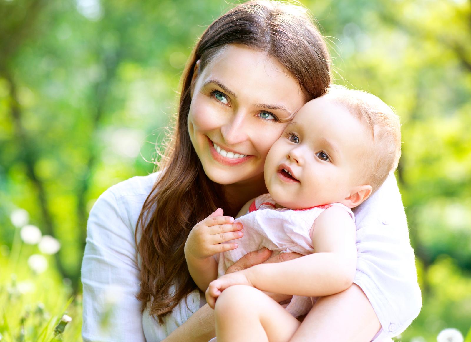 Мама с ребенком в картинках, маше сестры