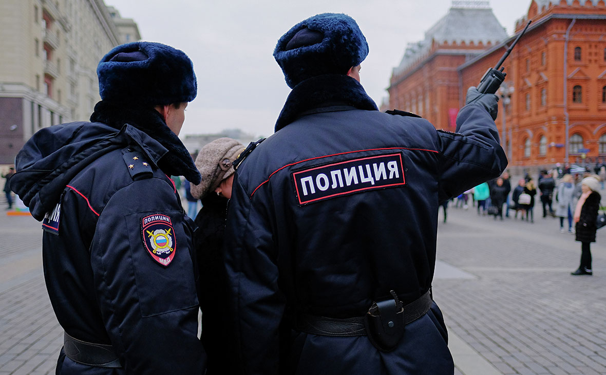 Картинка с полицейским