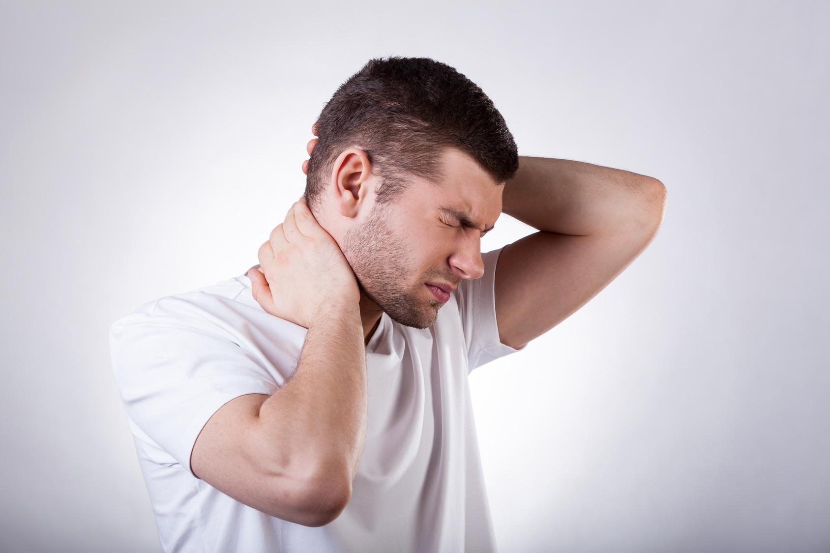 При шейном остеохондрозе температура тела фото