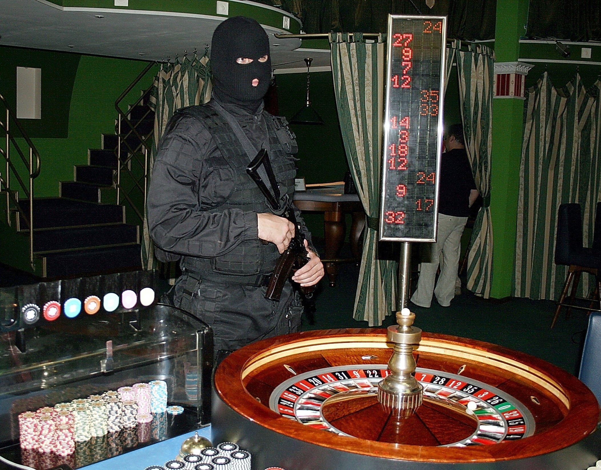 в каком году в россии запретили казино